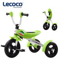 61新品Lecoco乐卡折叠儿童三轮车脚踏车宝宝自行车免充气3-6岁