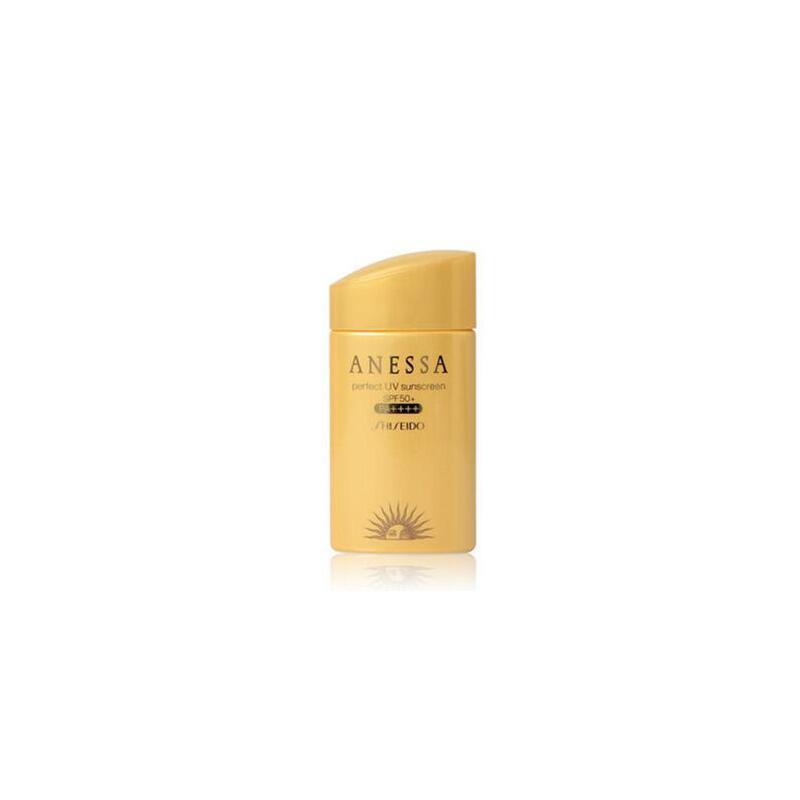 日本 资生堂/Shiseido 安耐晒安热沙金瓶防晒霜SPF50 60ml 夏季护肤 防晒补水保湿 可支持礼品卡