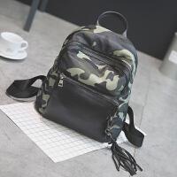 韩版小学生男童背包休闲旅游迷彩双肩包潮时尚幼儿园儿童水书包