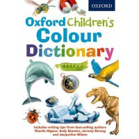 英文原版 牛津儿童彩色字典 学前英英彩图词典 Oxford Children Colour Dictionary