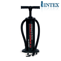 INTEX68615 大号手动充气泵可抽气四气嘴 可充球类