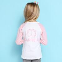 【��^59元3件】加菲�童�b女童T恤上衣GUW17336