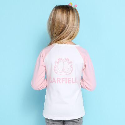 【领卷:59元选3】加菲猫童装女童T恤上衣GUW17336