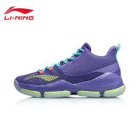 李宁篮球鞋男鞋2019夏季新款中帮减震耐磨实战透气战靴运动鞋