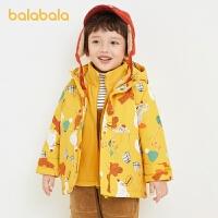 【2件6折�r:221.4】巴拉巴拉�_�h衣�杉�套棉衣男童外套�和�冬�b2020新款����童�b套�b