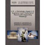 U.S. v. Kismetoglu (Agop) U.S. Supreme Court Tran****** of