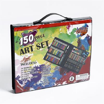 学生文具 儿童美术绘画套装水彩笔套装150PC幼儿园早教礼盒开学季