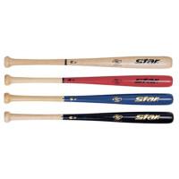 棒球棒STAR世达橡胶木棒球棒防身棒28英寸WR300一只