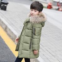 男童棉衣中长款2017新款童装儿童棉袄韩版外套中大童装羽绒