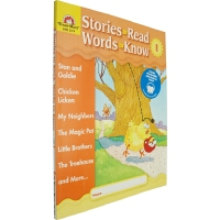 Stories to Read. Words to Know. Level I 英文原版 美国加州教材 Evan Mo