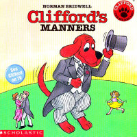 Clifford's Manners大红狗懂礼貌  ISBN9780545215862