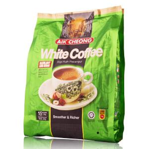 马来西亚进口 益昌 AIK CHEONG榛果味白咖啡三合一(减少糖) 450g