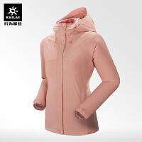 凯乐石户外 女款冬季冲锋衣防风防水保暖700蓬鹅绒三合一冲锋衣