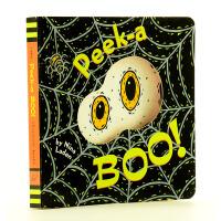 猜猜我是谁同系列 躲躲猫 Peek-a Boo! 英文原版 经典洞洞书入门启蒙躲猫猫纸板书