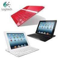 Logitech/罗技 超薄键盘盖 无线蓝牙 白色 适用new iPad3/iPad2/4 全国联保 全新盒装正品