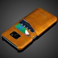 三星S7edge手机皮套S7保护套S8手机壳S8plus真皮note8插卡s8+后盖
