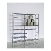 不锈钢双排鞋柜简易加厚鞋架多层组合花架加大号防尘阳台置物架子