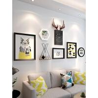 相框创意挂墙组合套装简约相片框结婚照画框欧式创意照片框像框架 占墙面积200cm*97cm