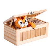 微博Don't touch小老虎无聊的盒子猫创意发泄玩具送女友