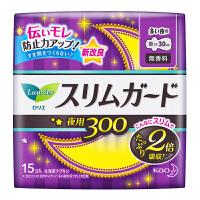 【日本进口】花王乐而雅(laurier)零触感2倍吸收特薄夜用卫生巾30cm15片 单包装(新老包装随机发货)