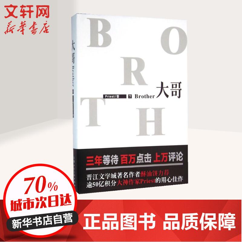 大哥下 上海人民美术出版社 【文轩正版图书】