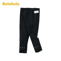 巴拉巴拉儿童裤子女童长裤春季2020新款小童宝宝洋气休闲裤打底裤