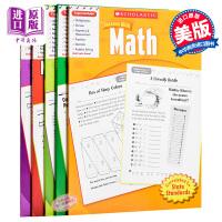 学乐助你成功4级系列5册 英文原版 Scholastic Success with Math,Grade4