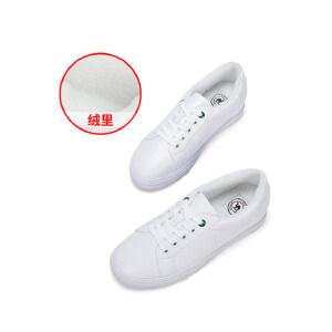 骆驼女鞋子女新款秋冬季百搭韩版单鞋板鞋运动鞋加绒小白鞋女