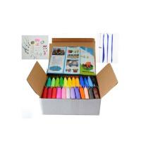 乐陶陶 轻粘土套装 彩泥 儿童DIY 24色白盒套装