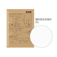 广博(GuangBo)活页本替芯A5活页纸20孔初高中活页笔记本文具本子 理科型GBH0564当当自营