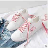 新款百搭小白鞋韩版白鞋运动鞋女鞋休闲平底学生板鞋