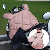 冬天电动车挡风被冬季电瓶车挡风罩摩托车防风被保暖加绒加厚连体款男女通用保暖被