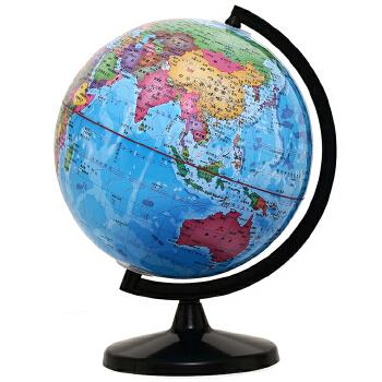 博目地球仪:32CM中文政区教辅地球仪(惠学版)