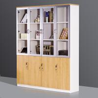文件柜档案资料储物柜现代简约办公家具木质收纳柜书柜办公室柜子 深度400mm