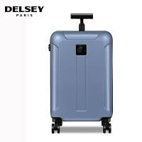 【促】DELSEY法国大使拉杆箱28寸新品静音万向轮旅行箱 行李箱硬箱