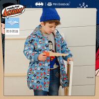 DC超人IP迷你巴拉巴拉儿童羽绒服2020冬季新款长款羽绒服婴童