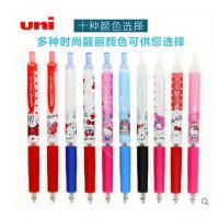三菱水笔中性笔 三菱UMN-158SR 新款限量版美乐蒂/KT猫中性笔0.38