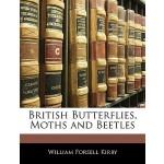 【预订】British Butterflies, Moths and Beetles