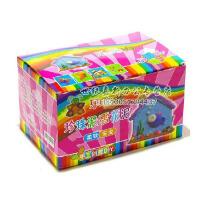 乐陶陶 颗粒彩泥 雪花泥 创意泥 纸粘土 珍珠泥 24色彩盒