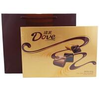 德芙(Dove) 埃丝汀多种口味巧克力礼盒 262g 礼盒装 休闲零食