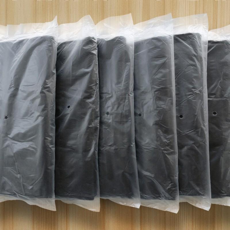 黑色垃圾袋加厚手提式家用厨酒大中小号背心式马甲塑料袋抽取式家务清洁垃圾袋 加厚