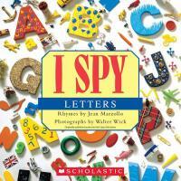 【预订】I Spy Letters 9780545415842
