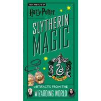 哈利波特 斯莱特林学院 魔法道具收藏折叠书 英文原版 Harry Potter: Slytherin Magic - A