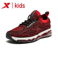 特步男童童鞋鞋子儿童跑鞋中大童休闲袜套飞织运动鞋681115119171
