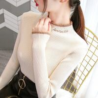 超级爆款半高领毛衣打底衫女2020秋冬新款长袖修身针织衫百搭上衣