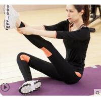 时尚瑜伽服套装女士专业运动跑步瑜珈服健身房衣服新款裤子