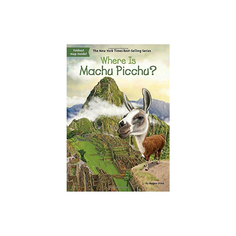 【现货】英文原版 Where Is Machu Picchu? 马丘比丘在哪儿?who was/is认知系列 中小学生读物 9780515159615 国营进口!品质保证!