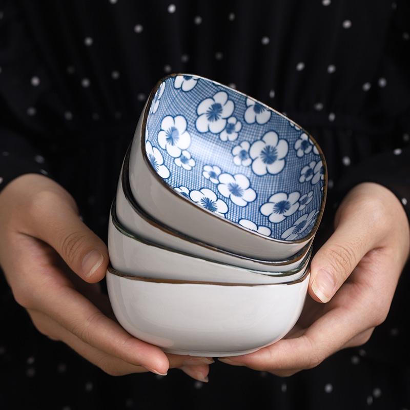 光一网红日式家用寿司陶瓷调味碟创意餐具小吃碗可爱酱油醋蘸料碗复古 全店满39元包邮