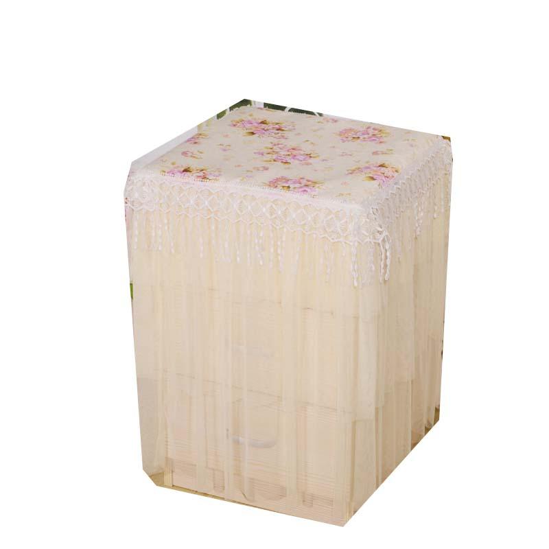 田园保险柜罩套贡缎布艺保险箱罩子空气净化器防尘罩家用电器