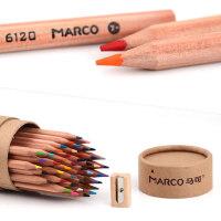 马可油性水溶性彩色铅笔48色美术绘画36色手绘素描马克彩铅套装